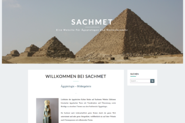 sachmet.ch - Wordpress-Installation by lionfish16 SEO.